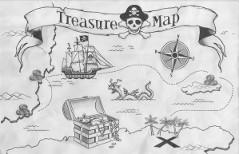 Carte chasse aux trésors